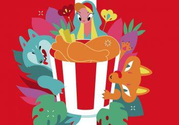 К 80-летию легендарного рецепта KFC выпустил худи в коллаборации с российской художницей Антонией Лев и новую серию железных баскетов