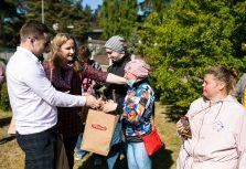 Кондитерская фабрика Pobeda Confectionery подарила полезные сладости детям с особыми потребностями