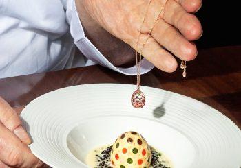 Яйцо Фаберже как источник вдохновения для высокой кухни