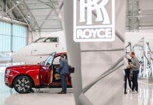 Новый Rolls-Royce Cullinan был презентован в Риге
