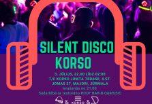 SILENT DISCO KORSO: дискотека в юрмальском стиле