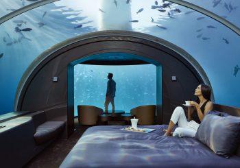 Жизнь под водой, достойная королей. Если это вилла Muraka