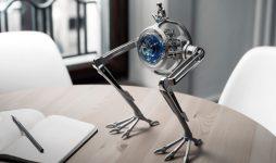MB&F для аукциона Only Watch создали уникальные часы в форме тираннозавра