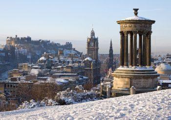 Эдинбург. Идеальное направление в зимнее время. Впрочем, не только зимой