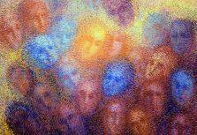 В галерее Rietumu открылась выставка рижской художницы Виктории Матисон «Эффект присутствия»