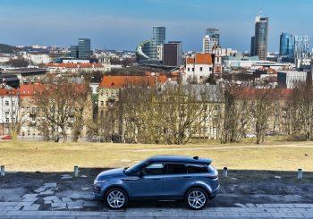 Новый Range Rover Evoque прибыл в Ригу
