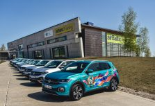 Новый городской кроссовер Volkswagen T-Cross теперь доступен в Латвии