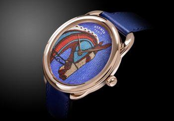 Часы Arceau от Hermès — истинный шедевр мастеров мозаики