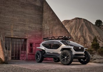Audi AI:TRAIL quattro: внедорожник будущего