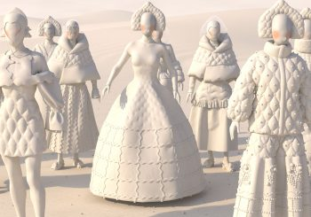 Прошла первая онлайн-презентация 3D коллекции Akhmadullina