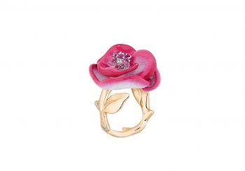Новая коллекция колец Rose Dior POP