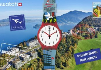 B-VIEWTIFUL: Swatch посвятила часы курорту Бюргеншток