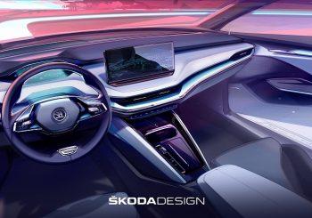 ŠKODA ENYAQ iV: новый уровень дизайна интерьера с концепцией Design Selections