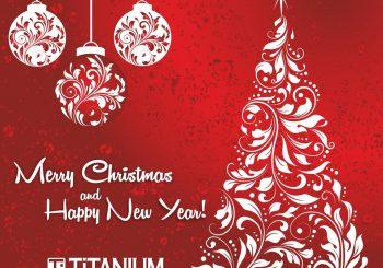 Светлого Рождества! Радостного Нового года!