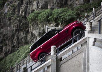 #рекорд. Range Rover Sport поднялся к «Небесным вратам»
