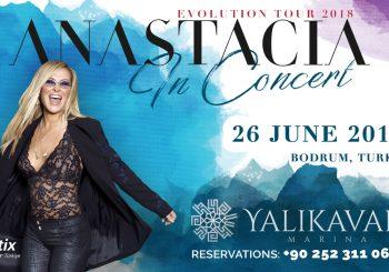 Бодрум. Анастейша даст концерт в Yalıkavak Marina