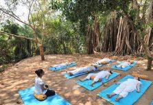 Санкальпа и практика осознанности – рассказывают учителя йоги курорта Kalari Rasayana, Индия