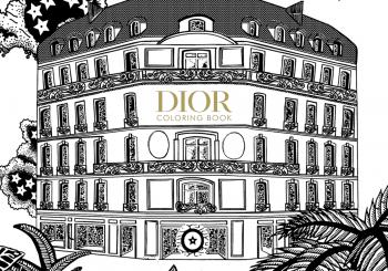 Coloring Book от Dior в подарок всем и каждому