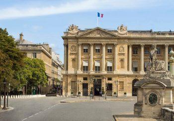 Фургон с мороженым в Париже от отеля Hôtel de Crillon, A Rosewood Hotel